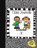 5 Engaging Whole-Class Journal Covers {FREE}