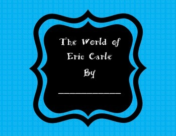 """5 Eric Carle Classroom Book"""