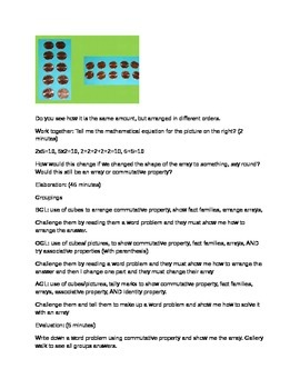 5 E's Strategies to multiply and divide