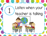 5 Essential Classroom Rules