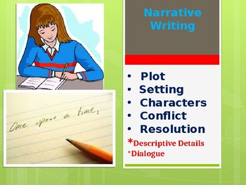 Narrative Writing for Middle School