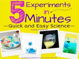 5 Experiments in 5 Minutes   Quick and Easy Science