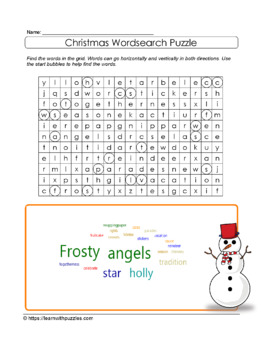 5 FREE Christmas Puzzles