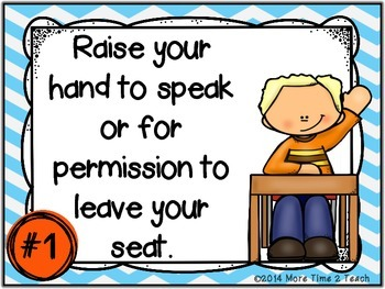 5 {FREE} Class Rules Posters