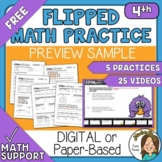 5 FREE Spiraled Practice Worksheets and Video Tutorials  D