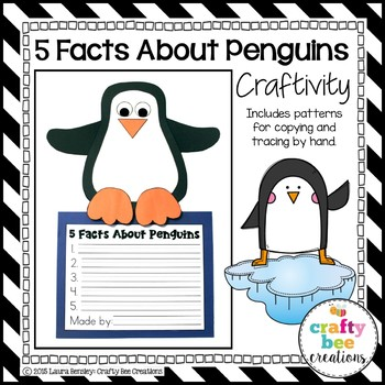 Penguin Craft {5 Facts About Penguins}