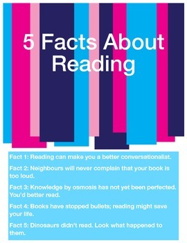 5 Facts About Reading Poster