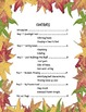 5 Fall Leaf Activities in 5 Days