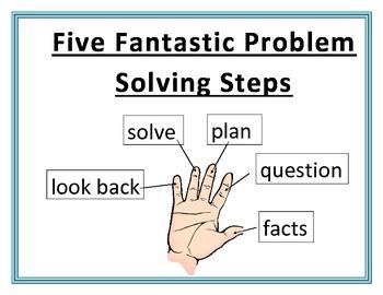 5 Fantastic Problem Solving Steps