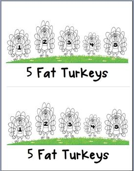 5 Fat Turkeys