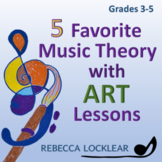 5 Favorite Music Theory with Art Lessons