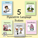 Figurative Language Posters - 5 FREE