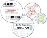 5 Finger Cats and 123 Read and Play Bundle