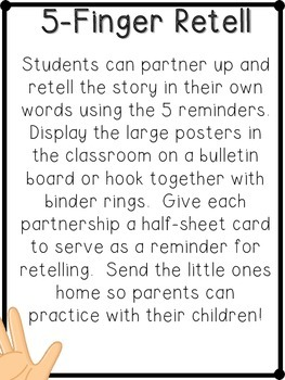 First Grade Reading: Retell