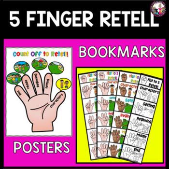 Five Finger Retell Worksheets Teaching Resources TpT