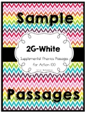 2G-White Phonics and Fluency Passages Sample