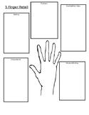 5 Finger Retell Graphic Organizer