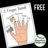 5 Finger Retell Poster {FREEBIE!}
