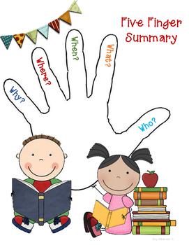 5 Finger Summary Strategy