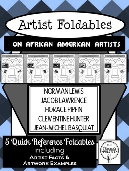 5 Foldables for Black History Month: Basquiat, Pippin, Lawrence, Hunter