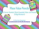 5 Forms Place Value Pencil Match