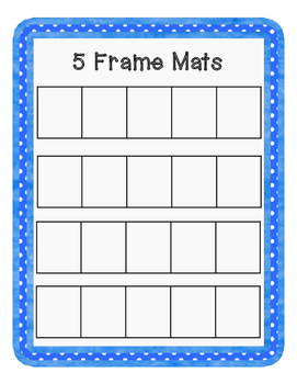 5 Frame Mats