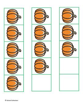 5 Frame Pumpkins