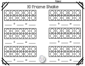 5 Frames & 10 Frames