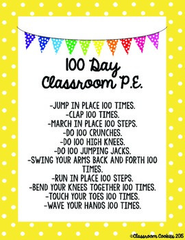 5 Free Activities For the 100th Day of School