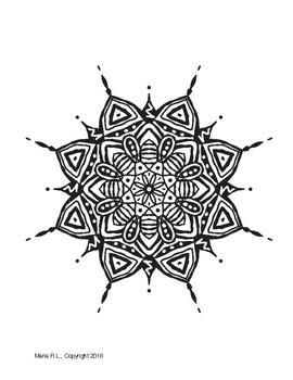 5 Free Mandala Coloring Pages