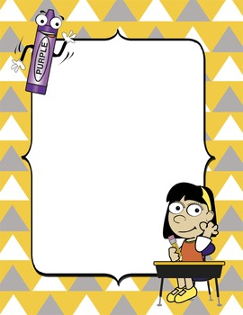 Free Back to School Border Frames by Down to Earth ...