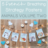 5 French Animal Breathing Posters VOLUME 2 // Create calm