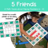 5 Friends - A Math Game About Making Numbers using Groups of 5