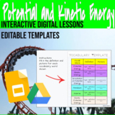 5 Fully Editable Potential and Kinetic Energy Digital Lessons