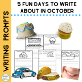5 Fun Days to Write about in October