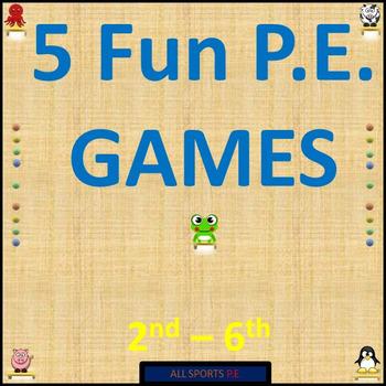 5 Fun P.E. Games