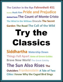 5 Fun Reading Posters for your Reading Corner: ELA 6-12