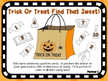 5 Fun and Education HALLOWEEN Games!  Perfect for Centers!