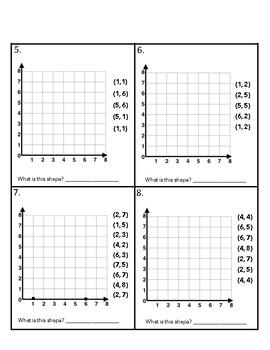 5.G.1 & 5.G.2 Plotting Coordinates