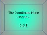 5.G.1 The Coordinate Plane Introduction - PowerPoint