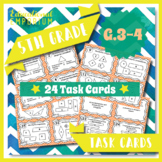 5.G.3 & 5.G.4 Task Cards: 2D Shapes Task Cards 5G3 & 5G4:
