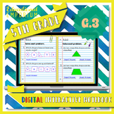 5.G.3 Interactive Notebook: 2D Shapes for Google Classroom™