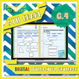 5.G.4 Interactive Notebook: Classifying 2D Shapes for Google Classroom™