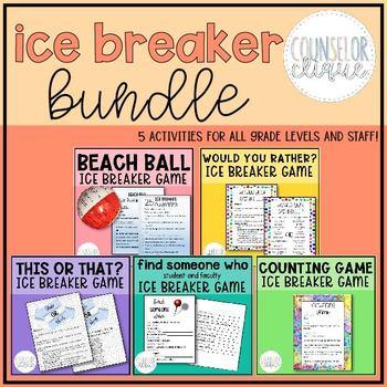 5 Game Ice Breaker Bundle