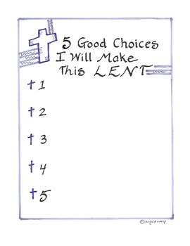 5 Good Choices I Will Make This Lent