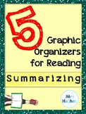 5 Graphic Organizers for Summarizing for Secondary Students