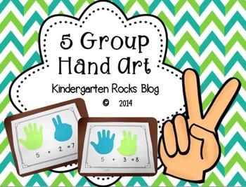 5-Group Math Art