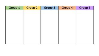 5 Group Rotation Wheel