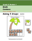 5 Groups: Making Five Groups: Kindergarten Math Center K.CC4, K.CC.5 Coconuts
