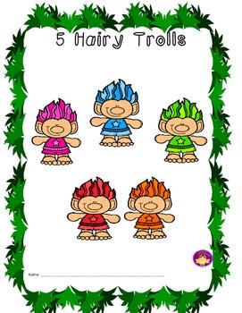 5 Hairy Trolls